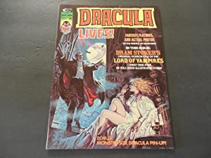 Dracula Lives! V2 #1 Mar 1974 Bronze Age BW Marvel Mag