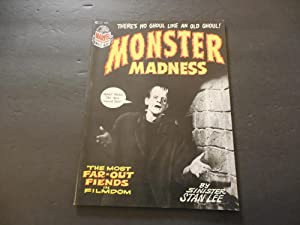 Monster Madness #1 1972 Marvel Comics Bronze Age Black And White Mag