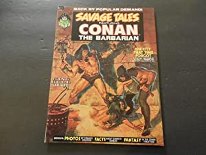 Savage Tales #2 Oct 1973 Bronze Age Marvel Comics Black White Magazine