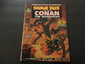 Savage Tales #2 Oct 1973 Bronze Age BW Magazine Marvel Comics