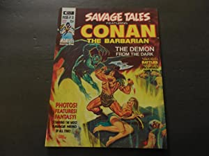 Savage Tales #3 Feb 1974 BW Mag Marvel Comics Bronze Age