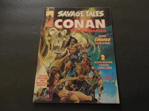 Savage Tales #4 May 1974 Black White Magazine Marvel Comics Bronze Age