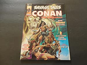Savage Tales #4 May 1974 Marvel Comics Bronze Age Black White Magazine
