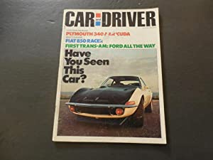 Car And Driver Jul 1970 Plymouth 340