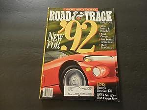 Road & Track Oct 1991 New Car