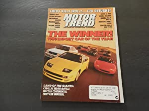 Motor Trend Mar 1990 Mazda MX-5; Mercedes