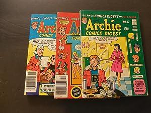3 Iss Archie Comics Digest 17, 26-27