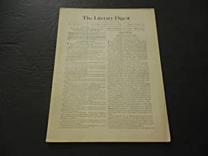 The Literary Digest Jun 17 1893 Reviews Of The World; Financial Outlook