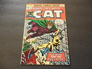 The Cat #2 Jan 1973 Bronze Age Marvel Comics Owl And The Pussycat