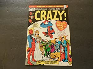 Crazy #2 April 1973 Bronze Age Marvel Comics Uncirculated Torch,Spidey