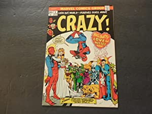 Crazy #2 April 1973 Bronze Age Marvel Comics Uncirculated Dr Deranged