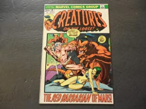 Creatures On The Loose #19 Sept 1972 Marvel Comics Bronze Age