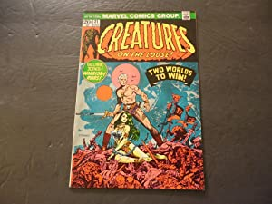 Creatures On The Loose #21 Jan 1973 Bronze Age Marvel Comics Steranko
