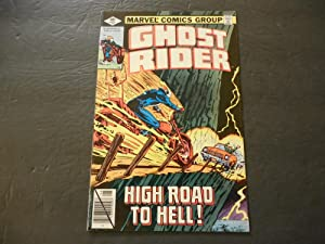Ghost Rider #37 Aug 1979 Bronze Age Marvel Comics