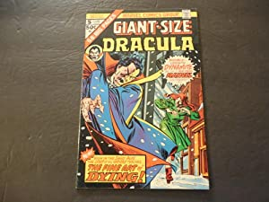 Giant-Size Dracula #5 Jun 1975 Bronze Age Marvel Comics