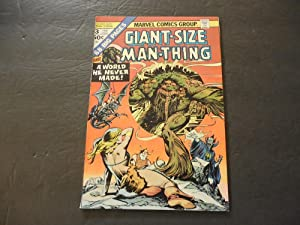 Giant-Size Man-Thing #3 Feb 1975 Marvel Comics Bronze Age