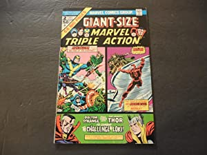 Giant-Size Marvel Triple Action #2 Jul 1975 Marvel Comics Bronze Age