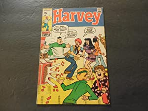 Harvey #1 Oct 1970 Bronze Age Silliness From Marvel Comics