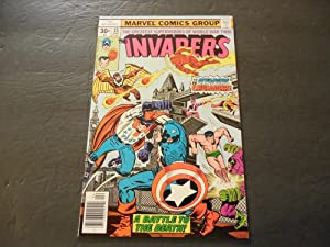 Invaders #15 Apr 1977 Bronze Age Marvel Comics
