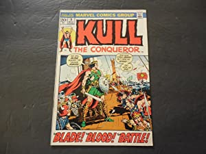Kull The Conqueror #5 Nov 1972 Bronze Age Marvel Comics Uncirculated