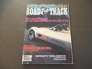 Road & Track Apr 1980 Turbocharged Trans