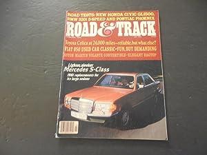 Road & Track Feb 1980 Mercedes S-Class;