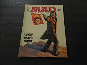 MAD #174 Apr 1975 Someone Has A Death Wish Bronze Age Silliness