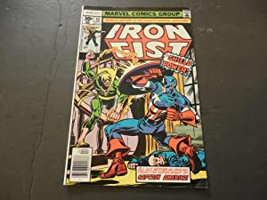 Iron Fist #12 Apr 1977 Bronze Age Marvel Comics