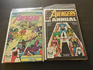 10 Avengers Annuals #12-13, 15-23 Bronze - Copper Age Marvel Comics