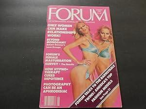 Penthouse Forum Jan 1980 Top Fashion Models,