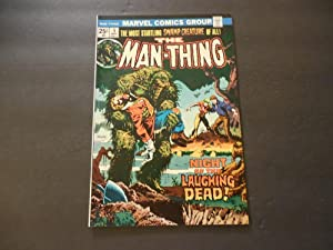 Man-Thing #5 May 1974 Bronze Age Marvel Comics Mike Ploog
