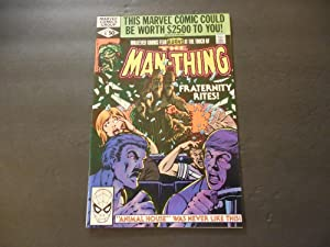 Man-Thing #6 Sep 1980 Bronze Age Marvel Comics