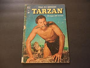 Edgar Rice Burroughs' Tarzan #25 Oct 1951 Golden Age Dell Comics