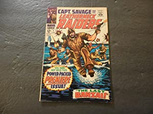 Capt Savage #1 Jan 1968 Silver Age Marvel Comics