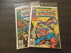2 Iss Captain America #227-229 Bronze Age Marvel Comics