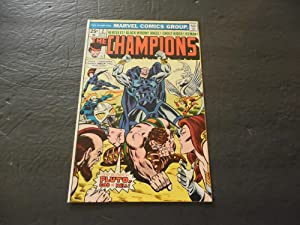 Champions #2 Jan 1976 Bronze Age Marvel Comics