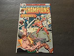 Champions #5 April 1976 Bronze Age Marvel Comics