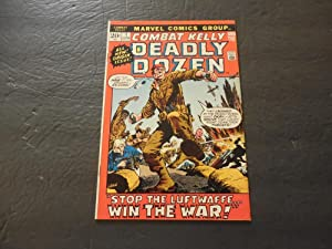 Combat Kelly And The Deadly Dozen #1 Jun 1972 Bronze Age