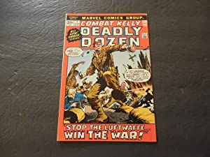 Combat Kelly And The Deadly Dozen #1 Jun 1972 Marvel Comics