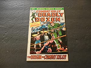 Combat Kelly The Deadly Dozen #3 Oct 1972 Marvel Comics Bronze Age War