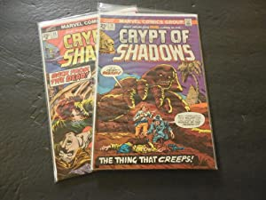 2 Iss Crypt Of Shadows #13-14 Oct-Nov 1974 Bronze Age Marvel Comics