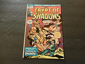 Crypt Of Shadows #17 May 1975 Bronze Age Marvel Comics