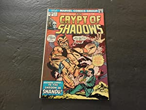Crypt Of Shadows #17 May 1975 Bronze Age Marvel Comics Shandu