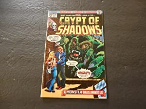 Crypt Of Shadows #20 Oct 1975 Bronze Age Marvel Comics