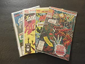 4 Daredevil Annuals #6-9 1990-1993 Copper Age Marvel Comics