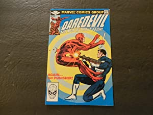 Daredevil #183 Jun 1982 Bronze Age Marvel Comics Punisher Appearance