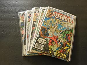 13 Iss Defenders #97-109 Jul 1981-Oct 1982 Bronze Age Marvel Comics