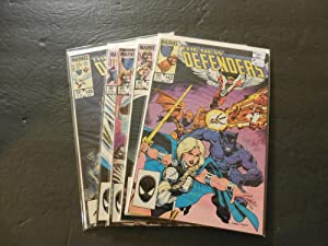5 Iss Defenders #142-146 Apr-Jul 1984 Copper Age Marvel Comics