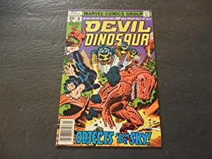 Devil Dinosaur #4 Jul 1978 Bronze Age Marvel Comics Jack Kirby
