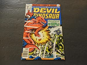 Devil Dinosaur #7 Oct 1978 Bronze Age Marvel Comics Jack Kirby